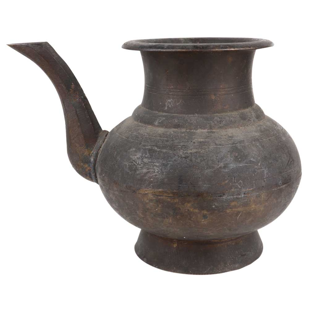 Heavy Brass Kitchen Water Pot With Spout