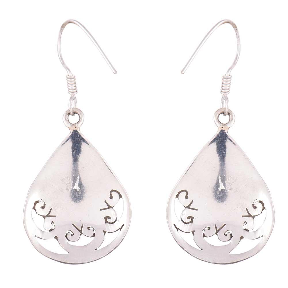 92.5 Sterling silver Earrings Red Agate drop Designer earrings