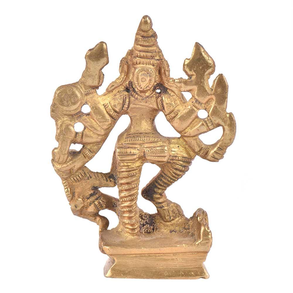 Goddess Durga StatueHindu Decor Religious Sculpture