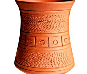 Handmade Terracotta Traditional Tea/Coffee Cups Set Of 1