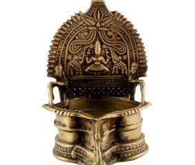 Brass Oil Lamp Cotton Wick Diya Lamp