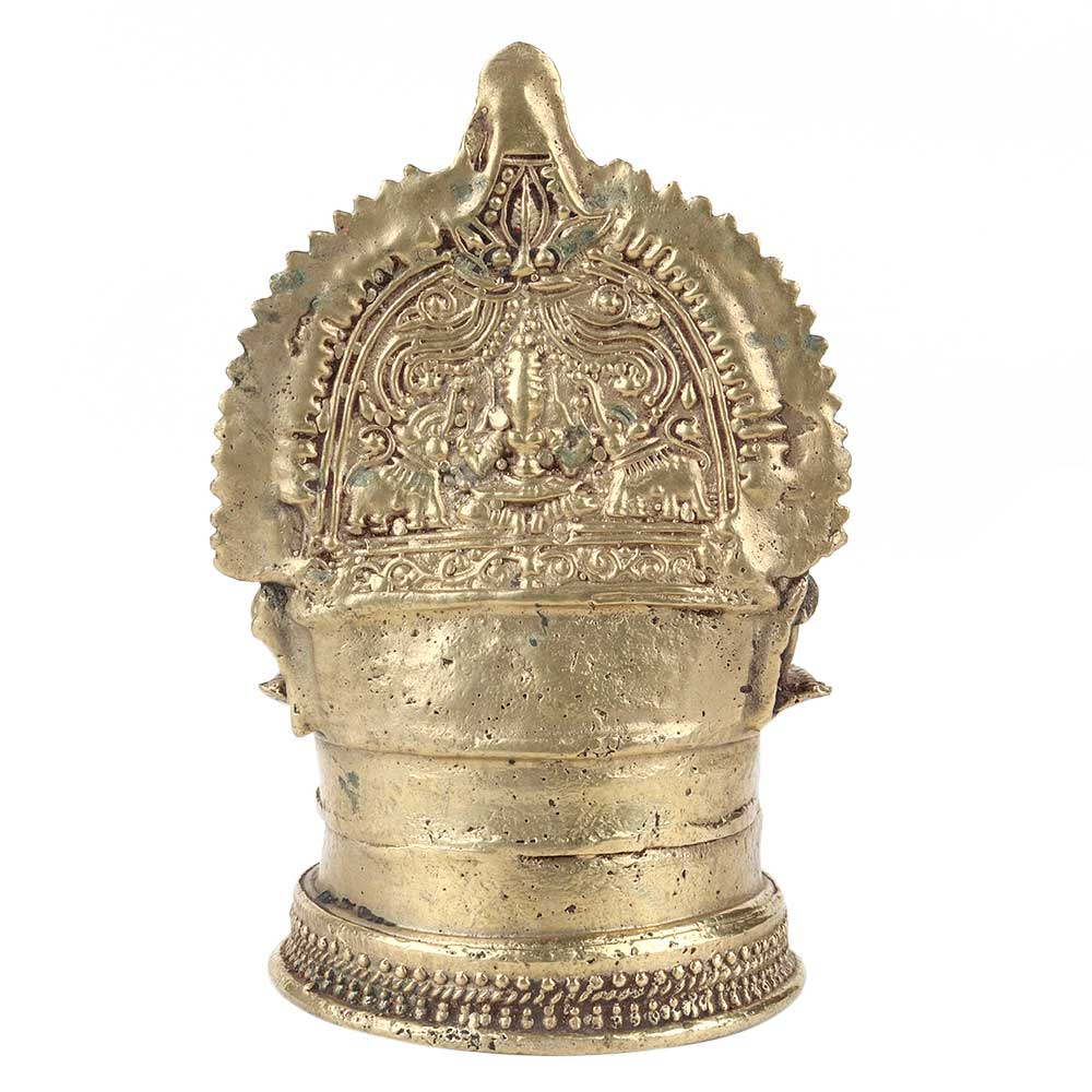 Laxmi Brass Oil Lamp South Indian Worship Lamp