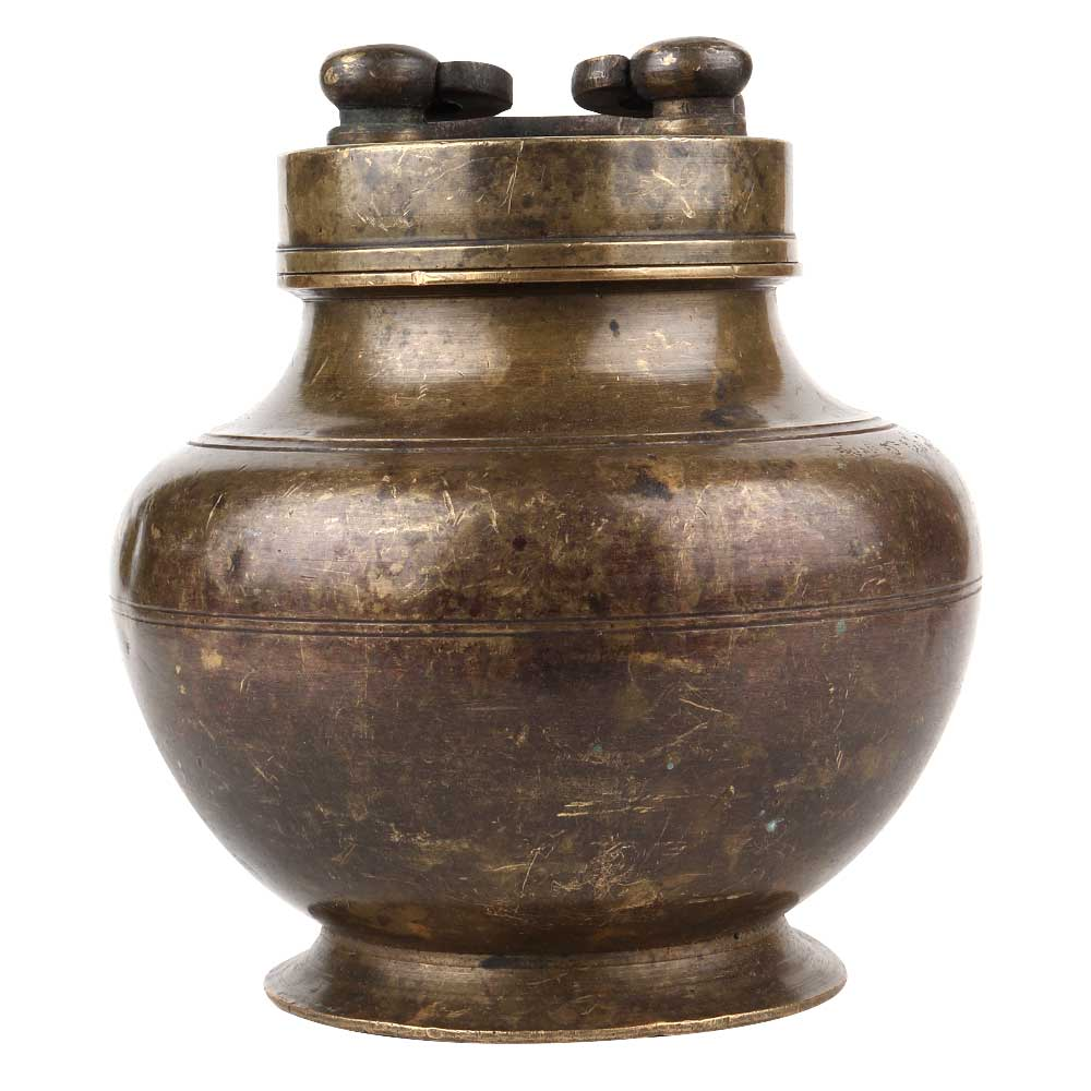 Tradition Brass Holy Water Pot