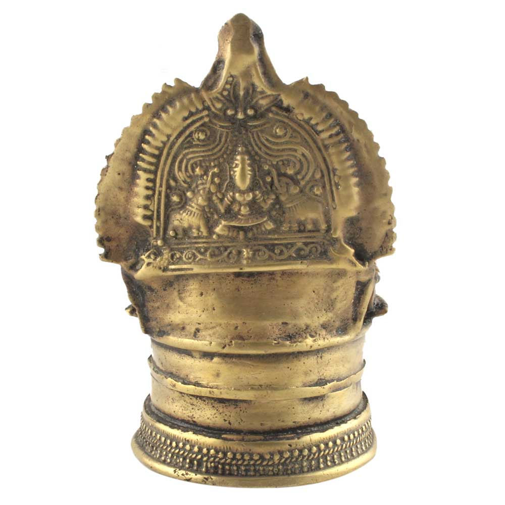 Brass Small Oil Lamp South Indian Worship Diya Lamp