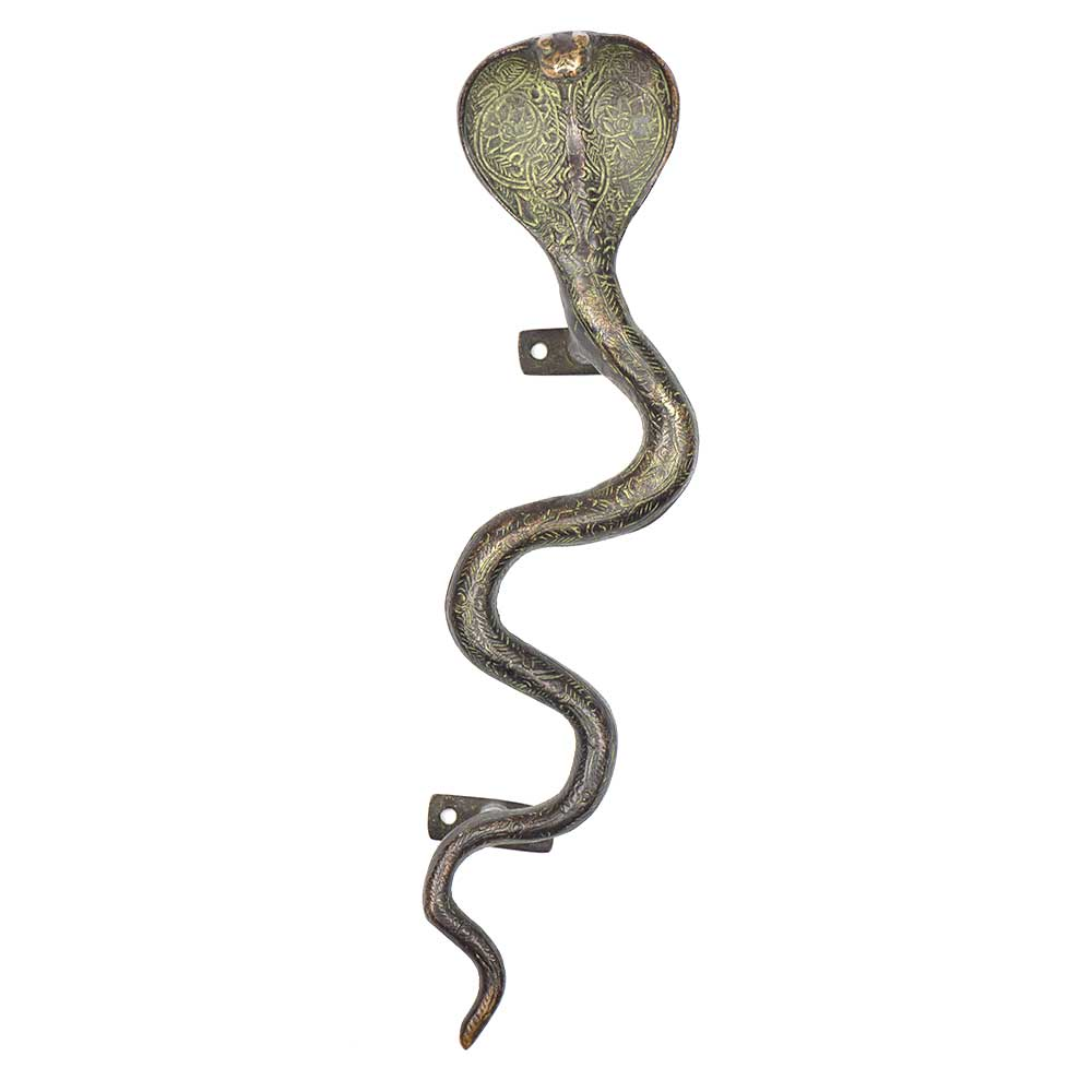 Brass Cobra Snake Door Handle Cabinet Pulls