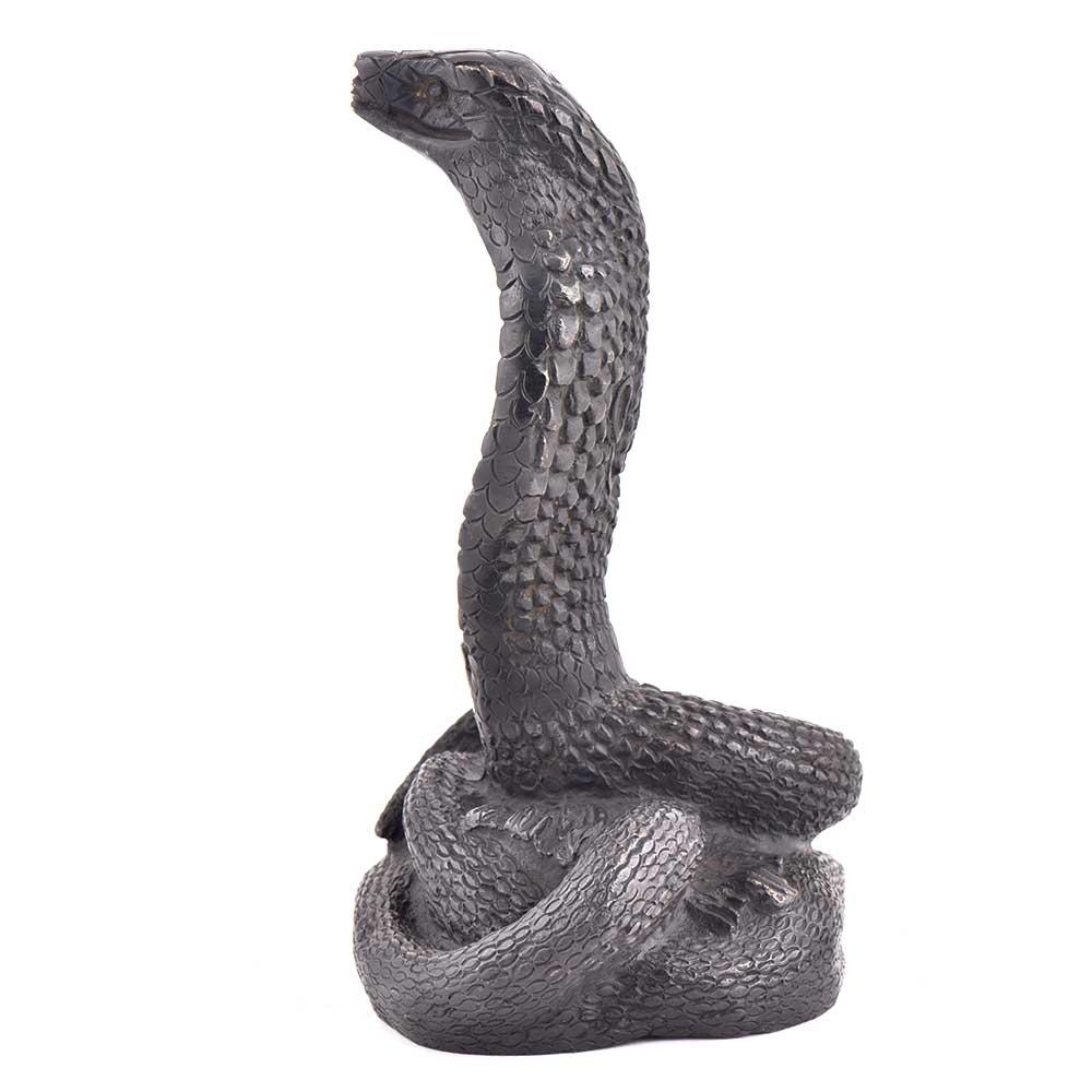 Handmade Brass Cobra Snake Statues