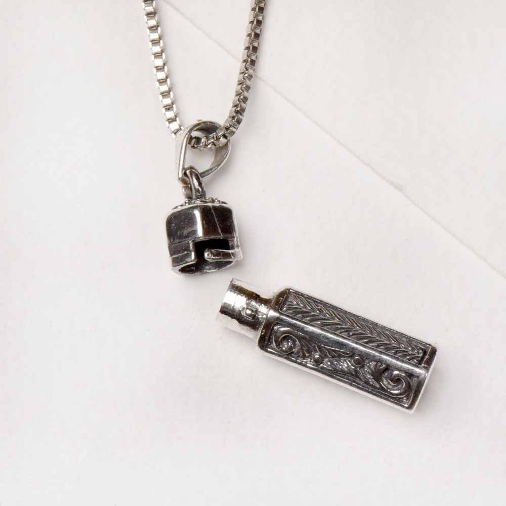 92.5 Sterling Silver Pendant Dotted Balinese DesignPendant
