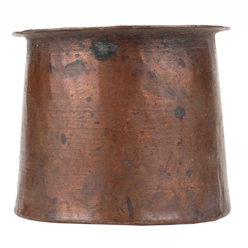 Copper Traditional Looking Panch Patra Pot