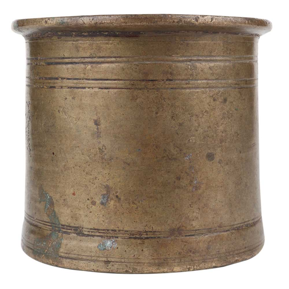 Brass Traditional Looking Panch Patra Pot