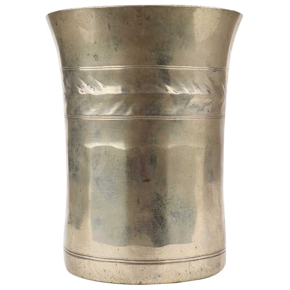 Brass Smooth Finish Holy Water Pot
