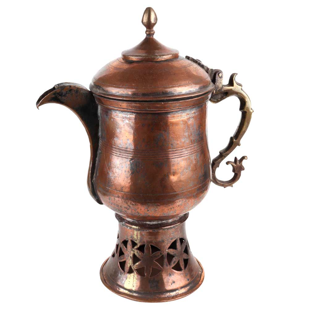 Traditional Copper Samovar Teapot
