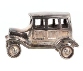 Brass Toy Car Decorative Showpiece