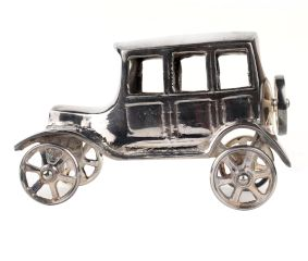 Tribal Brass Toy Car Classic Showpiece