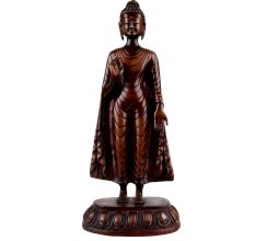 Brass Standing Buddha statue For Home Decoration
