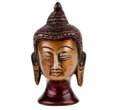 Divine Brass Buddha Head Home Decoration Statue
