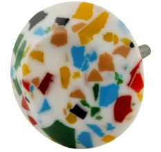 Multi color Resin Dresser Knobs