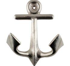 Silver Anchor Iron Hook