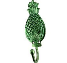 Green Pineapple Iron Hook