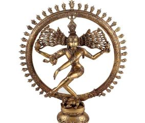 Brass Dancing Shiv Natraj Statue For Home Decoration