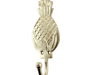 Golden Pineapple Iron Hook