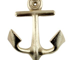 Golden Anchor Iron Hook
