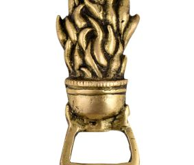 Brass Fire Torch Bottle Opener