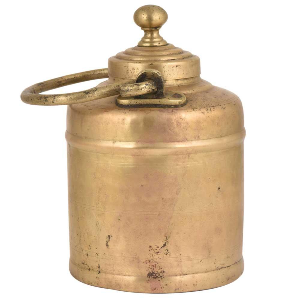 Handmade Brass Milk Pot Collectable Kitchenware