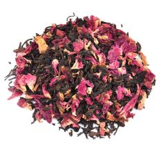 Organic Tea Whole Leaf Rose Black Tea