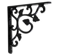 Black Small Shelves Brackets