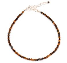 Tiger Eye Beaded Bracelet For Women