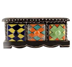 Spice Box-1410 Masala Rack Container Gift Item