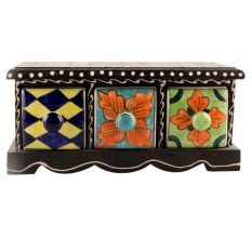 Spice Box-1411 Masala Rack Container Gift Item