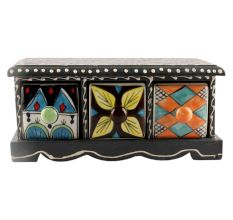 Spice Box-1412 Masala Rack Container Gift Item