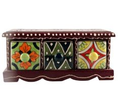 Spice Box-1415 Masala Rack Container Gift Item