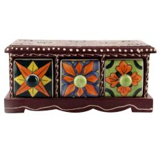 Spice Box-1417 Masala Rack Container Gift Item