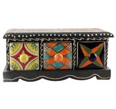 Spice Box-1419 Masala Rack Container Gift Item