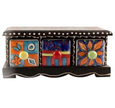 Spice Box-1420 Masala Rack Container Gift Item