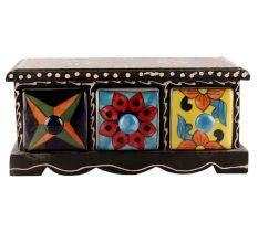Spice Box-1423 Masala Rack Container Gift Item