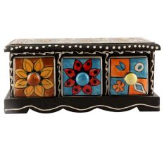Spice Box-1424 Masala Rack Container Gift Item