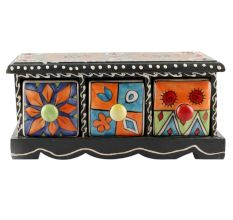 Spice Box-1425 Masala Rack Container Gift Item