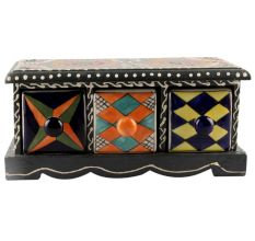 Spice Box-1427 Masala Rack Container Gift Item