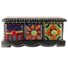 Spice Box-1429 Masala Rack Container Gift Item