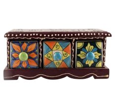 Spice Box-1431 Masala Rack Container Gift Item