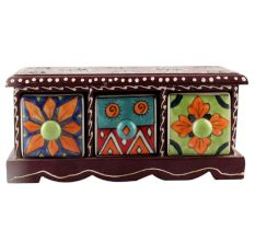 Spice Box-1432 Masala Rack Container Gift Item