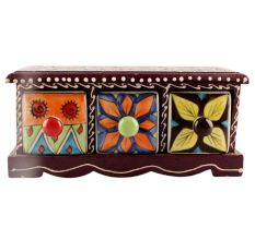 Spice Box-1436 Masala Rack Container Gift Item