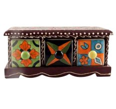Spice Box-1437 Masala Rack Container Gift Item
