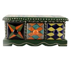 Spice Box-1441 Masala Rack Container Gift Item