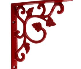 Red Small Shelves Brackets