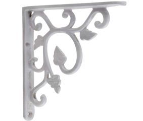 White Small Shelves Brackets