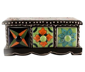 Spice Box-1433 Masala Rack Container Gift Item
